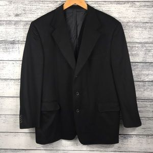 Ermenegildo Zegna Pure Cashmere Black Blazer